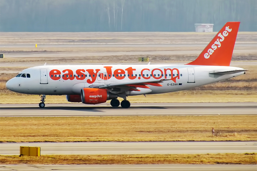Easyjet Airbus A-319 at Belfast on Jun 25th 2015, EFB computes