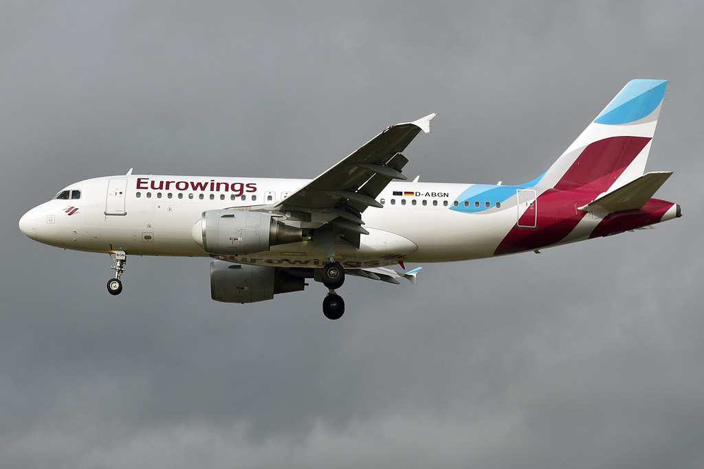 Fotografie Eurowings D-ABGN, Airbus A319