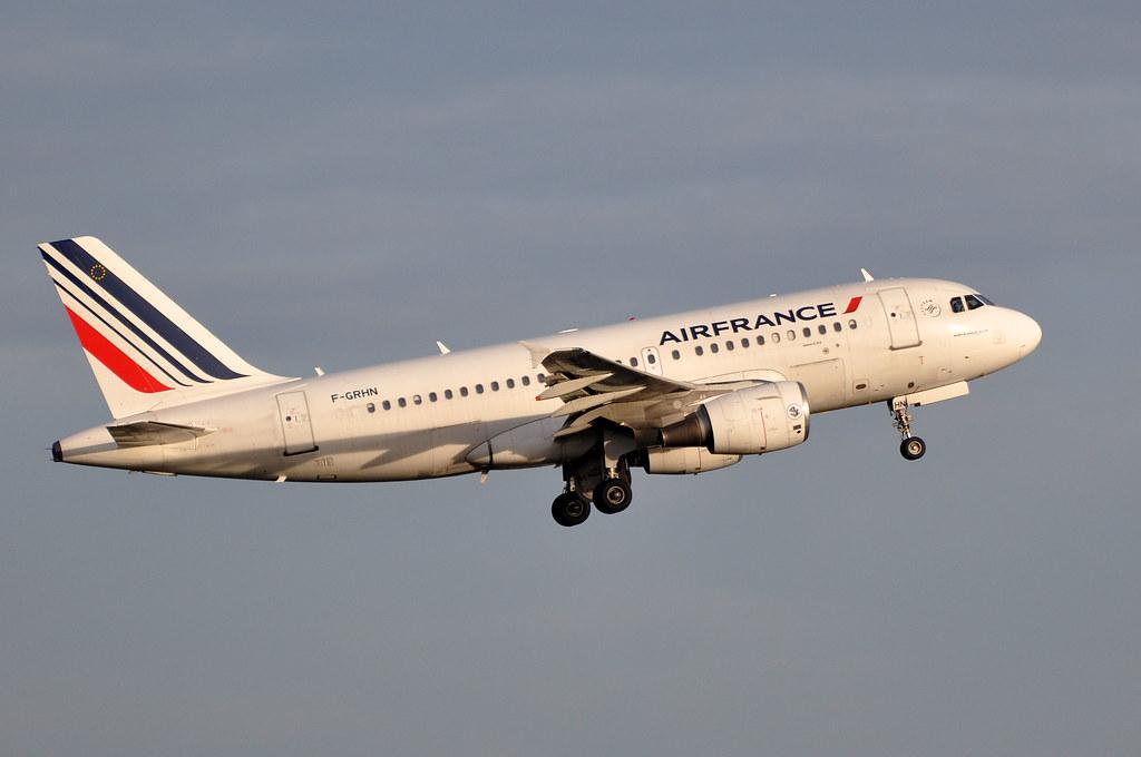 Photo of Air France F-GRHN, Airbus A319