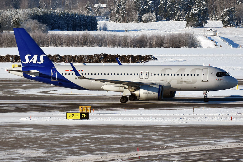 Fotografie SAS Scandinavian Airlines SE-ROI, Airbus A320-200N