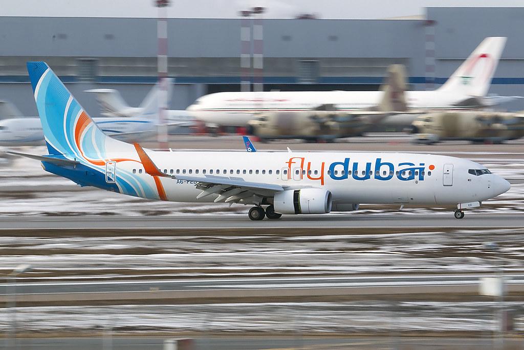 Fotografie Flydubai A6-FED, Boeing 737-800