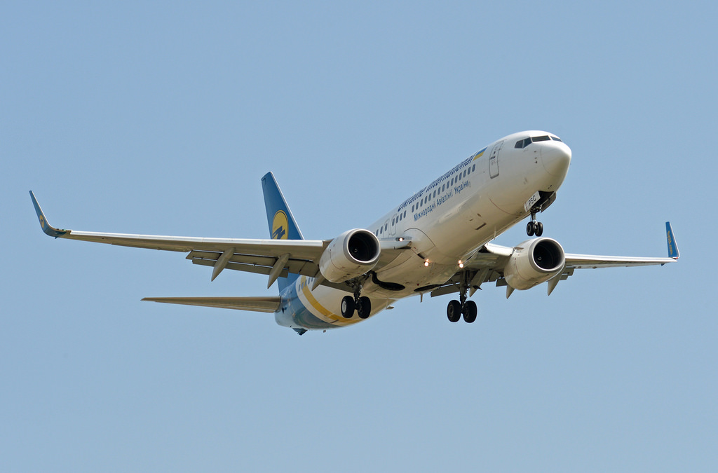 Ukraine International Boeing 737-800 at Lviv on Jan 15th