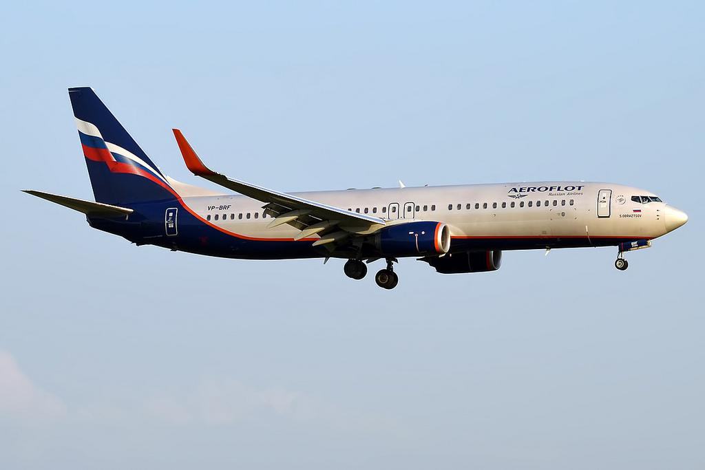 Fotografie Aeroflot VP-BRF, Boeing 737-800