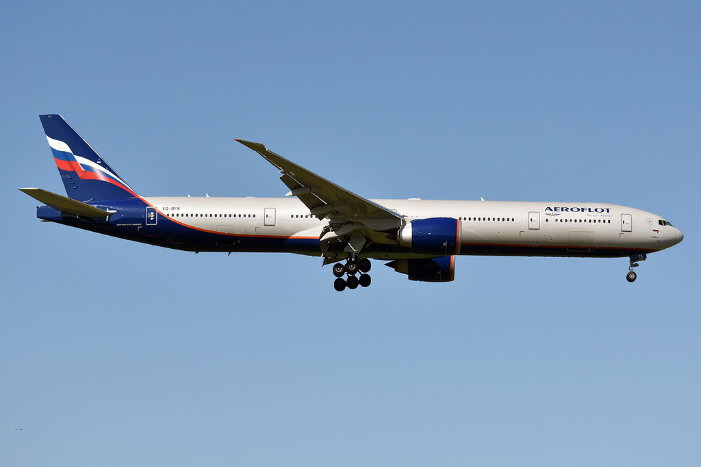 Photo of Aeroflot VQ-BFK, Boeing 777-300