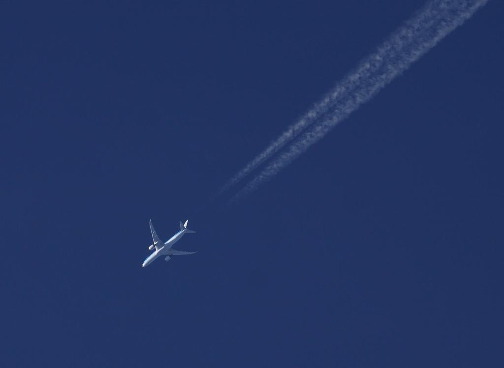 KLM Boeing 787-9 Dreamliner at San Francisco on Jan 21st